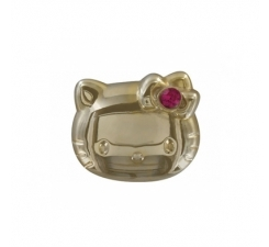 Crocs Jibbitz Hello Kitty Gold LE 12