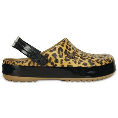 Crocs Crocband Leopard II Clog