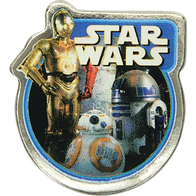 Jibbitz STW Light Side F15 - Badge C