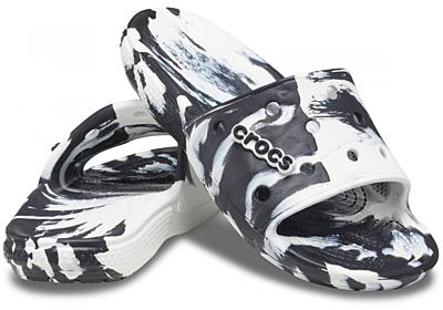 Classic Crocs Marbled Slide