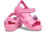Crocs Classic Cross Strap Charm Sandal T