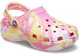 Crocs Classic Platform Marbled Clog W