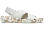 Crocs LiteRide Prnted Camo Stretch Sndl W