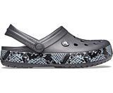 Crocband Snake Print Clog