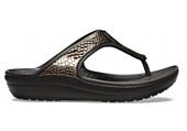 Crocs Sloane MetalTxt Flip W